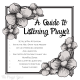 A Guide to Listening Prayer